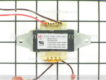 GE Transformer WB27X21609 from AppliancePartsPros.com