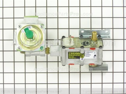 GE Valve Control Asm Nor. D WB19K10040 from AppliancePartsPros.com