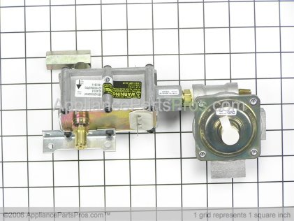 GE Valve Control Asm WB19K10051 from AppliancePartsPros.com