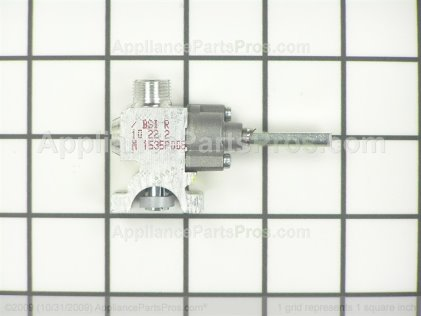 GE Valve Gas Rt Frt WB19T10023 from AppliancePartsPros.com