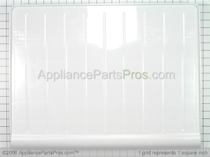 GE Vegetable Pan Cover WR32X10398 from AppliancePartsPros.com