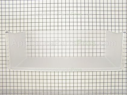 GE Vegetable Pan Rear (42 Inch Models) WR32X1565 from AppliancePartsPros.com