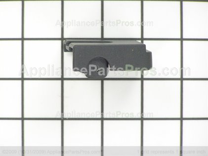 GE Vent Trim End Cap-Lt-Blk WB36K5101 from AppliancePartsPros.com