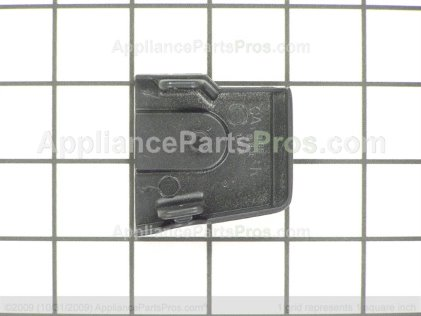 GE Vent Trim End Cap-Rt-Blk WB36K5102 from AppliancePartsPros.com