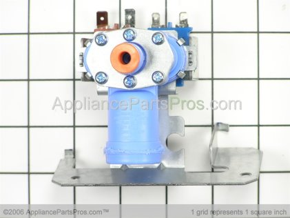GE Water Inlet Valve WR57X10023 from AppliancePartsPros.com