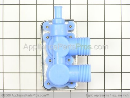 GE Water Valve Assembly WH13X85 from AppliancePartsPros.com