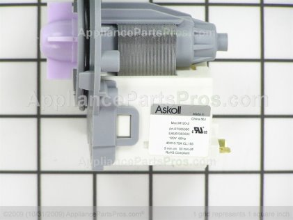 LG Circulation Pump Motor EAU61383503 from AppliancePartsPros.com