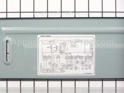 LG Cover Assembly,lower 3551DD2001B from AppliancePartsPros.com