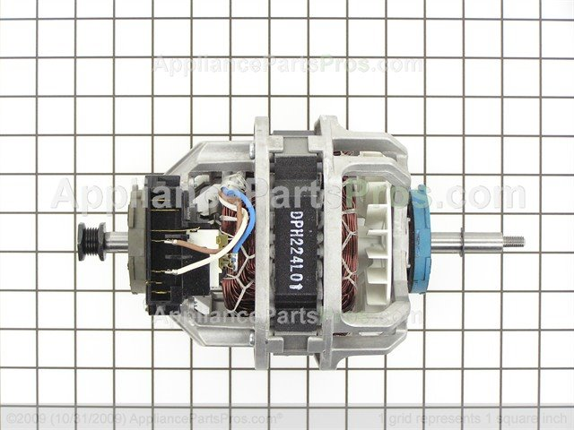 lg drive motor assembly 4681el1008a ap4438218_02_l how to lg dryer dle5955w will not tumble or doesn't tumble Basic Electrical Wiring Diagrams at mifinder.co