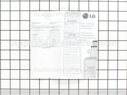 LG Filter Assembly,water ADQ36006101 from AppliancePartsPros.com