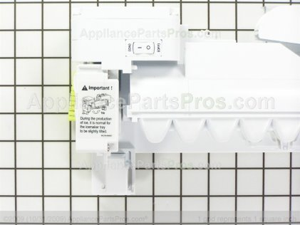 LG Ice Maker Assembly,kit AEQ73110205 from AppliancePartsPros.com