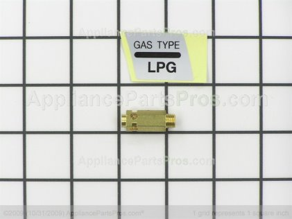 LG Liquid Propane Gas Orifice 383EEL3002A from AppliancePartsPros.com