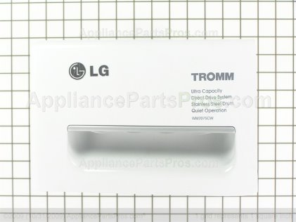 LG Panel Assembly,drawer 3721ER1249G from AppliancePartsPros.com