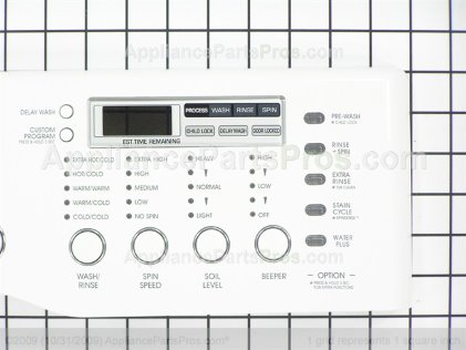 LG Panel Assm.,control AGL30906701 from AppliancePartsPros.com