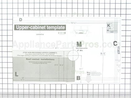 LG Template 4922W5A057B from AppliancePartsPros.com