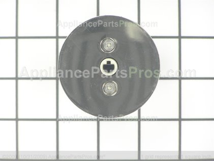 LG Top Burner Control Knob EBZ37189609 from AppliancePartsPros.com