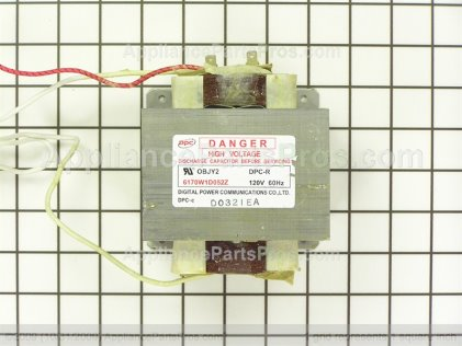 LG Transformer,high Voltage 6170W1D052Z from AppliancePartsPros.com