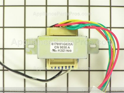 LG Transformer,power 6170W1G035A from AppliancePartsPros.com