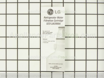 LG Refrigerator Water Filter 5231JA2006F from AppliancePartsPros.com