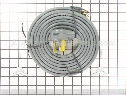 Pro 10' 3 Wire Dryer Cord TJMAG3028 from AppliancePartsPros.com