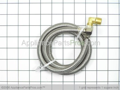 Pro Dishwasher Fill Hose TJ10SS48DW from AppliancePartsPros.com