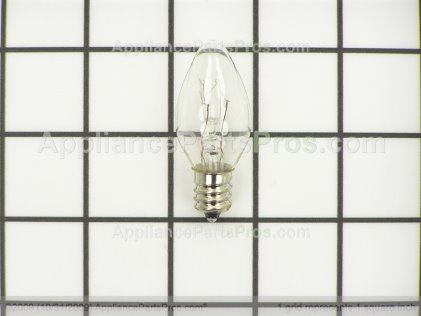 Pro Light Bulb TJ907C7 from AppliancePartsPros.com
