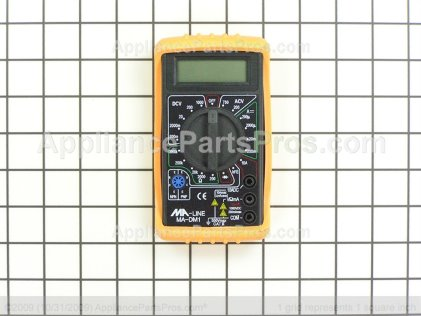 Pro Digital Multimeter TJMA-DM1 from AppliancePartsPros.com
