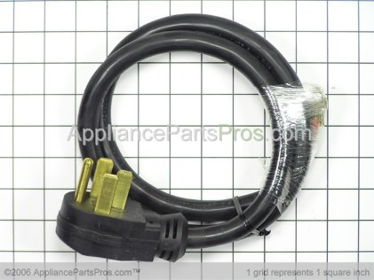 Pro Range Power Cord TJ614 from AppliancePartsPros.com