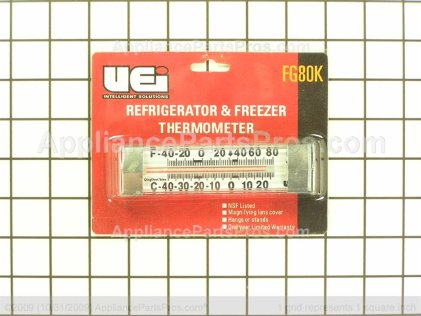 Pro Ref/frz Thermometer Nsf TJFG80K from AppliancePartsPros.com