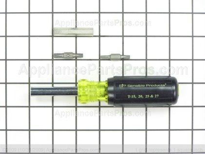 Pro Torx Driver Set TJTRTD-1 from AppliancePartsPros.com