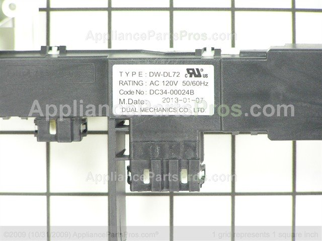 Samsung Door Switch Assembly DC34-00024B from AppliancePartsPros.com  sc 1 st  Appliance Parts Pros & Samsung DC34-00024B Door Switch Assembly - AppliancePartsPros.com