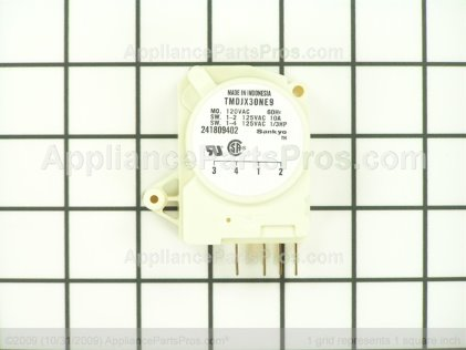 Wci Defrost Timer 241809402 from AppliancePartsPros.com