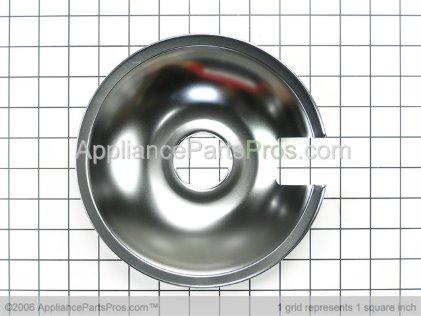 Whirlpool 8 Inch Drip Pan 715878 from AppliancePartsPros.com