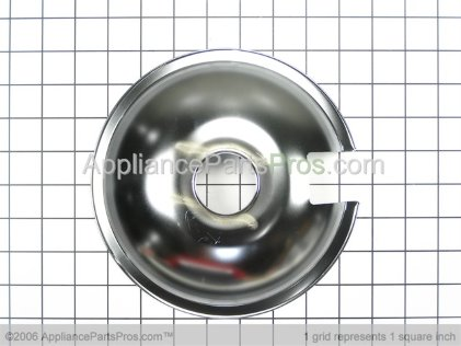 Whirlpool 8 Inch Drip Pan 715878 from AppliancePartsPros.com