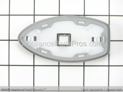 Whirlpool Actr Pad Frame Assembly (stainless) 12593203S from AppliancePartsPros.com