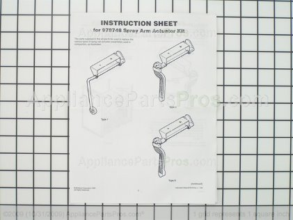 Whirlpool Actuator 978748 from AppliancePartsPros.com