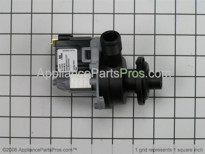 Whirlpool Assy, Drain Pump R9800147 from AppliancePartsPros.com