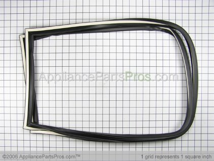 Whirlpool Assy, Freezer Door Gasket (black) R0000203 from AppliancePartsPros.com