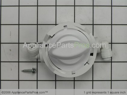 Whirlpool Water Filter By Pass Head R0000009 from AppliancePartsPros.com