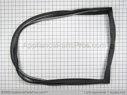Whirlpool Assy, Refrigerator Dr Gasket (black) R0000202 from AppliancePartsPros.com