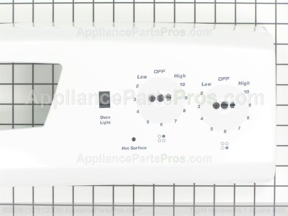 Whirlpool Backguard Panel 74010304 from AppliancePartsPros.com