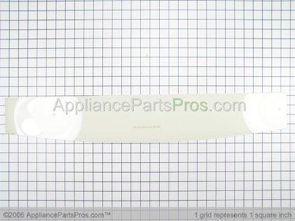Whirlpool Backsplash Glass (biscuit) 9753910CC from AppliancePartsPros.com
