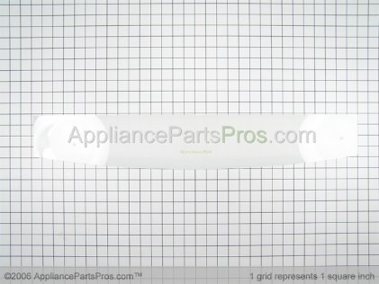 Whirlpool Backsplash Glass (white) 9781154 from AppliancePartsPros.com