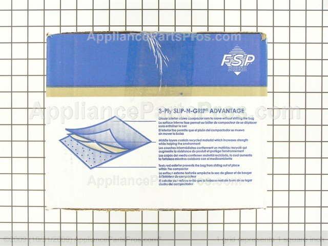 ... Whirlpool Trash Compactor Bags W10165294RB From AppliancePartsPros.com  ...