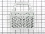 Basket, Silverware (g