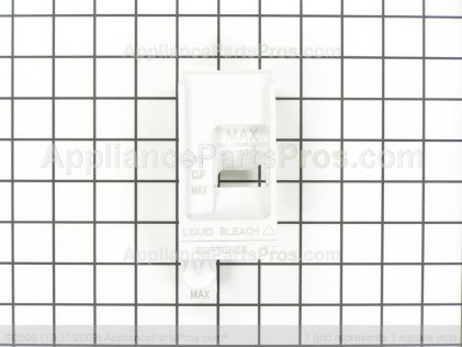 Whirlpool Bleach/softener Siphon (white) 8182665 from AppliancePartsPros.com