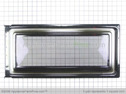 Whirlpool Body, Door (includes Film) (black/stainless) 8185109 from AppliancePartsPros.com