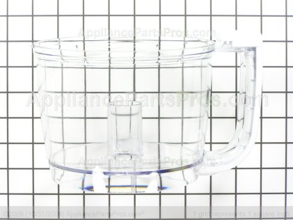 Whirlpool Bowl For KitchenAid KFP710WH0 Touchpad Does Not Respond AP6012152  From AppliancePartsPros.com