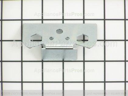 Whirlpool Bracket, Door Stop (white) 2206629 from AppliancePartsPros.com