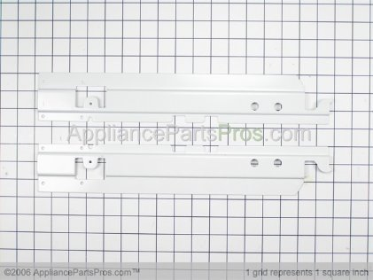 Whirlpool Bracket, Slide (lt) 12002230 from AppliancePartsPros.com